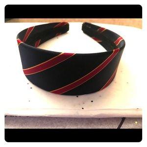 Accessories - Navy red preppy headband